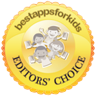 Bestappsforkids Editors' Choice